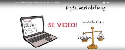 Hva er digital markedsføring?